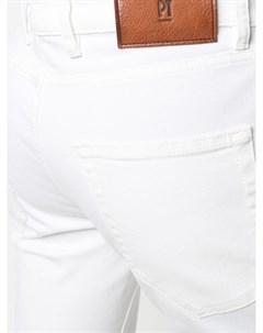 Узкие джинсы с карманами Pt05