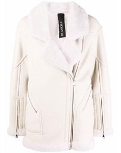 Байкерская куртка со вставками Blancha