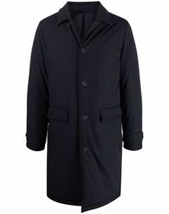 Однобортное пальто Officine generale
