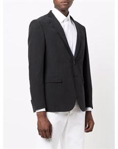 Однобортный пиджак строгого кроя Tonello
