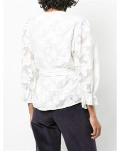 Блузка Kaylee с запахом Tanya taylor