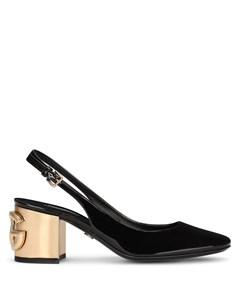 Туфли на блочном каблуке Dolce&gabbana