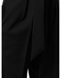 Прямые брюки с присборенной талией Martin grant