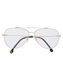 Солнцезащитные очки авиаторы в оправе Carrera