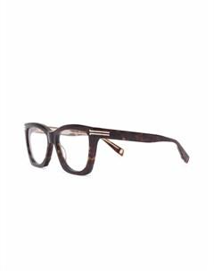 Очки черепаховой расцветки Marc jacobs eyewear