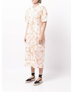 Платье с цветочным принтом Lee mathews