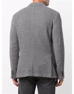 Вельветовый однобортный пиджак Z zegna