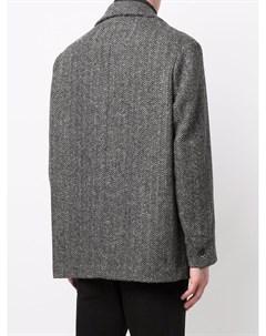 Пиджак с узором в елочку Barena
