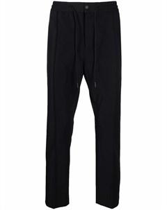 Габардиновые брюки кроя слим Pt01