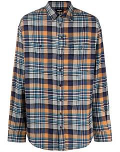 Рубашка в клетку Dsquared2