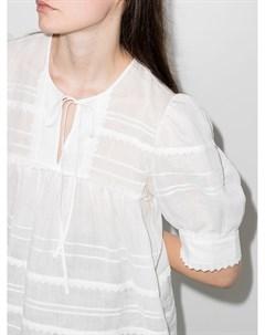 Блузка с объемными рукавами Lee mathews