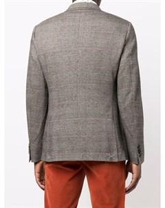 Однобортный пиджак с заостренными лацканами Etro