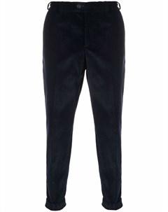 Зауженные вельветовые брюки Pt01