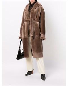 Пальто с завязками Blancha