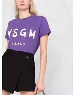 Юбка шорты с запахом Msgm