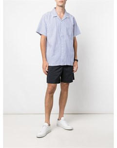 Полосатая рубашка с короткими рукавами Alex mill