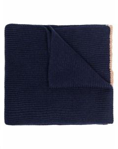 Кашемировый шарф в рубчик Eleventy