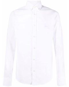 Рубашка с нашивкой логотипом Boss