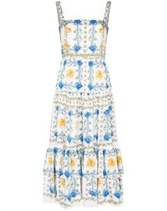 Платье Daniela с цветочным принтом Borgo de nor
