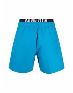 Плавки шорты с логотипом Calvin klein underwear