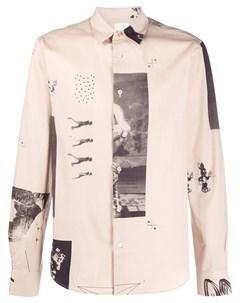 Рубашка с принтом Paul smith