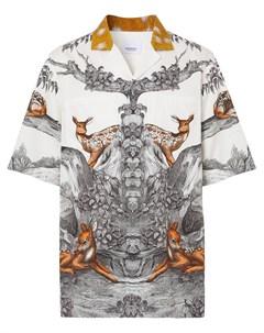 Рубашка с принтом Burberry