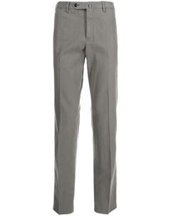 Твиловые брюки кроя слим Pt01