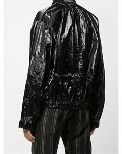 Глянцевая куртка с жатым эффектом Cmmn swdn