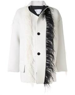 Куртка с перьями Toga