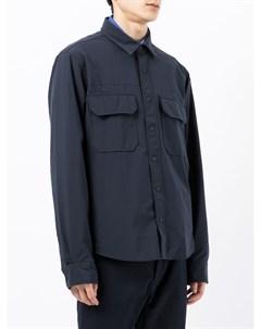 Рубашка с накладными карманами Tommy hilfiger