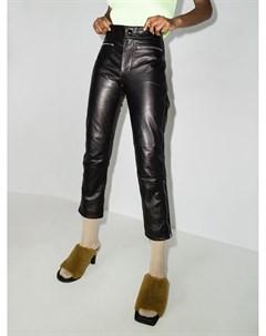Укороченные брюки с молниями на манжетах Marni