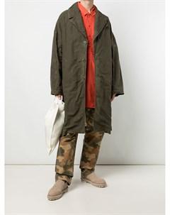 Пальто оверсайз с жатым эффектом Casey casey