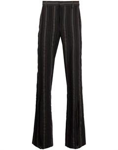 Расклешенные брюки в полоску Cmmn swdn