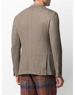 Фактурный однобортный пиджак Etro