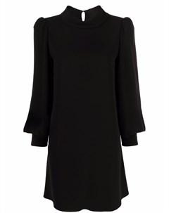 Платье трапеция с длинными рукавами Parosh
