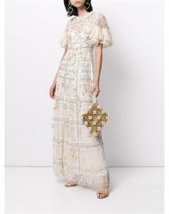 Платье Antonia с пайетками Needle & thread