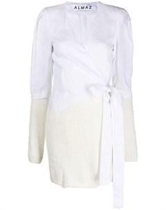 Платье с запахом Almaz