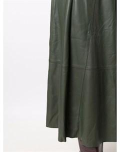 Кожаная юбка с поясом Incentive! cashmere