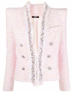 Укороченный пиджак Balmain