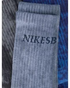 Комплект носков Everyday Plus с принтом тай дай Nike