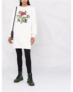 Платье свитер с логотипом Pinko