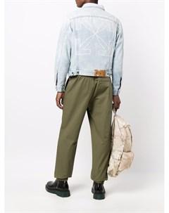 Джинсовая куртка с принтом Arrows Off-white