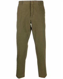 Укороченные брюки строгого кроя Pt01