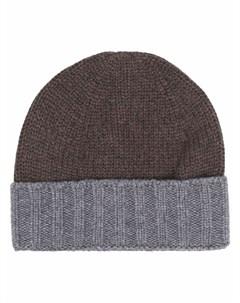 Кашемировая шапка бини Barba