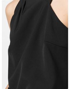 Блузка асимметричного кроя без рукавов Milly