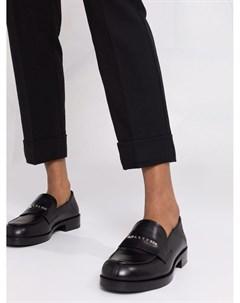 Зауженные брюки с логотипом Pinko