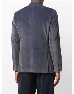 Вельветовый однобортный пиджак Etro