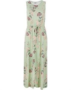 Платье макси в цветочек Bonprix