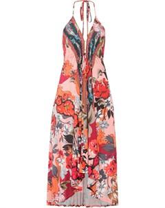 Платье с американской проймой Bonprix