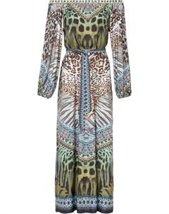 Платье с открытыми плечами Bonprix
